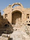 Temple d'Artemis, Jerash Image stock