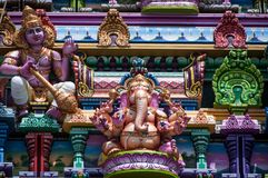 Temple d'Arulmigu Navasakti Vinayagar photo stock