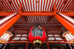 Temple d'Asakusa Photo stock