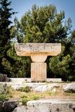 Temple d'Asclepium de ruine dans Kos Grèce Photo libre de droits