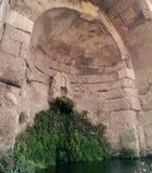 Temple d'Asclepius sur Kos Image libre de droits