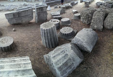 Temple d'Asklepion sur Kos photographie stock
