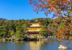 Temple d'or au Japon Photos libres de droits