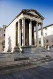 Temple d'Augustus Image stock