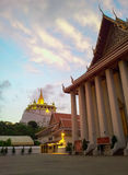 Temple d'or de support Photo stock