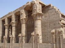 Temple d'Edfu. Photo libre de droits