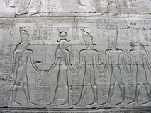 Temple d'Edfu, Egypte Image stock