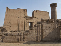 Temple d'Edfu, Egypte photographie stock
