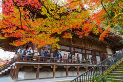 Temple d'Eikando Zenrinji à Kyoto, Japon Photographie stock