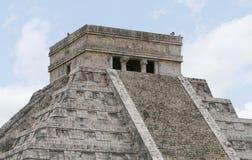 Temple d'EL Castillo Photographie stock