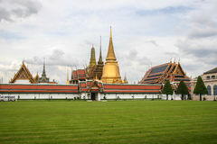 Temple d'Emerald Buddha Bangkok, Thaïlande Image stock