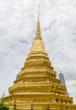 Temple d'Emerald Buddha à Bangkok, Thaïlande Photo stock