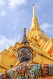 Temple d'Emerald Buddha ou de Wat Phra Kaew, palais grand, Bangkok, Thaïlande Images stock