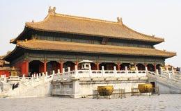 Temple d'empereurs Images libres de droits