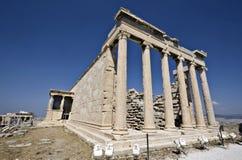 Temple d'Erechteion à Athènes, Grèce photo libre de droits