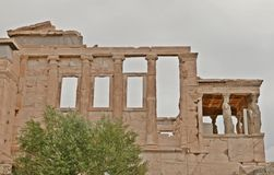 Temple d'Erechtheion photos libres de droits