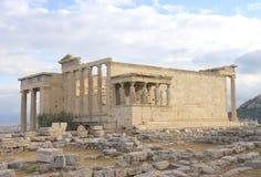 Temple d'Erechtheum photo libre de droits