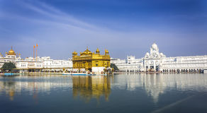 Temple d'or Inde images libres de droits