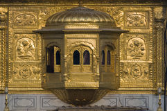 Temple d'or Inde Photos stock