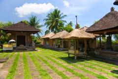 Temple d'Indu dans Ubud, Bali, Indonésie. Photographie stock libre de droits