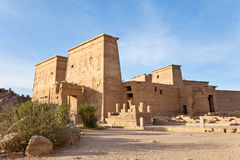 Temple d'ISIS images stock