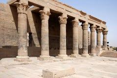 Temple d'ISIS de Philae Images libres de droits