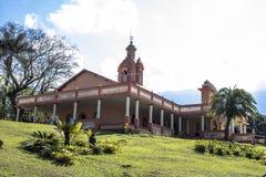 Temple d'ISKON image libre de droits