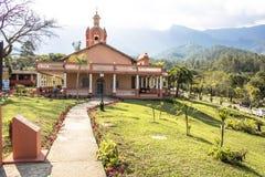 Temple d'ISKON images stock