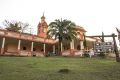 Temple d'ISKON photo libre de droits