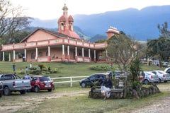 Temple d'ISKON Photo stock