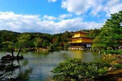 Temple d'or, Japon Photographie stock libre de droits