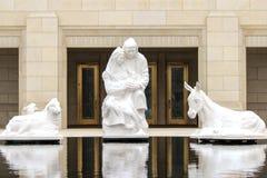 Temple d'Ogden LDS Photographie stock