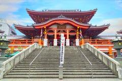 Temple d'Osu Kannon à Nagoya photo libre de droits