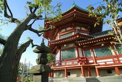 Temple d'Ueno, Tokyo images libres de droits