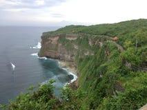 Temple d'Ulluwatu dans Bali Image libre de droits