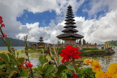 Temple d'Ulun Danu Photographie stock libre de droits