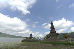 Temple d'Ulun Danu Images libres de droits