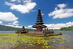 Temple d'Ulun Danu - Bedugul - Bali 005 Image libre de droits