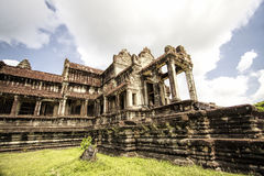 Temple dans Angkor Vat image libre de droits