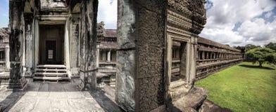 Temple dans Angkor Vat photo stock