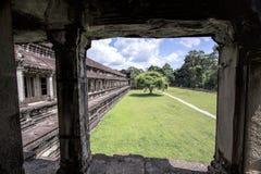 Temple dans Angkor Vat photographie stock libre de droits