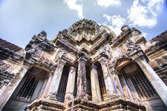 Temple dans Angkor Vat Images libres de droits