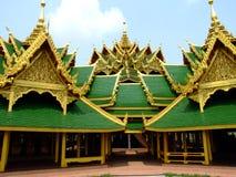 Temple dans Ayutthaya, Thaïlande. Image libre de droits