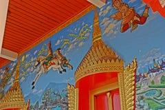 Temple dans Chanthaburi, Thaïlande, un bâtiment consacré au culte, ou considéré comme la demeure, ou d'autres objets de religio photo stock