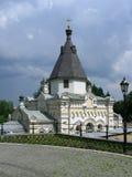 Temple dans des lauriers de Kiev Photos libres de droits