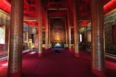 Temple dans du nord de la Thaïlande Photographie stock libre de droits