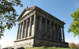 Temple dans Garnia - un temple païen en Arménie photo stock