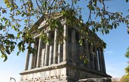 Temple dans Garnia - un temple païen en Arménie photo libre de droits