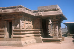 Temple dans Hampi, Inde Image stock