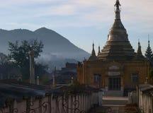 Temple dans Kalaw Images libres de droits